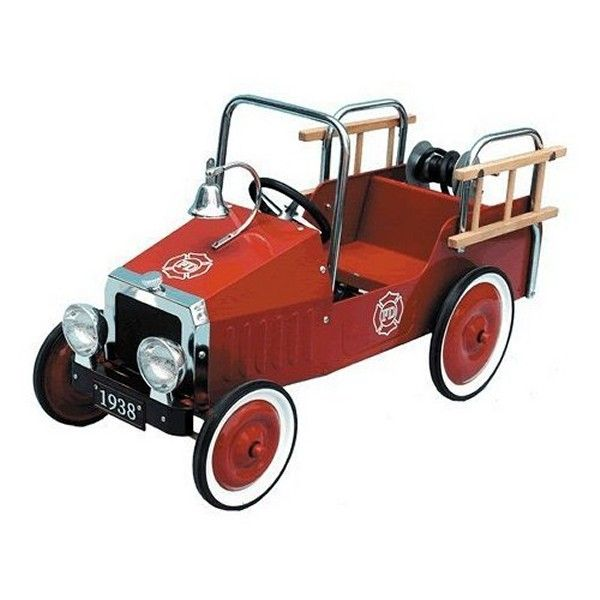 Pedal Car Fire Engine