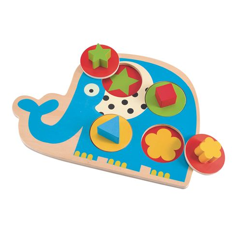 Shape Matching Wooden Puzzle